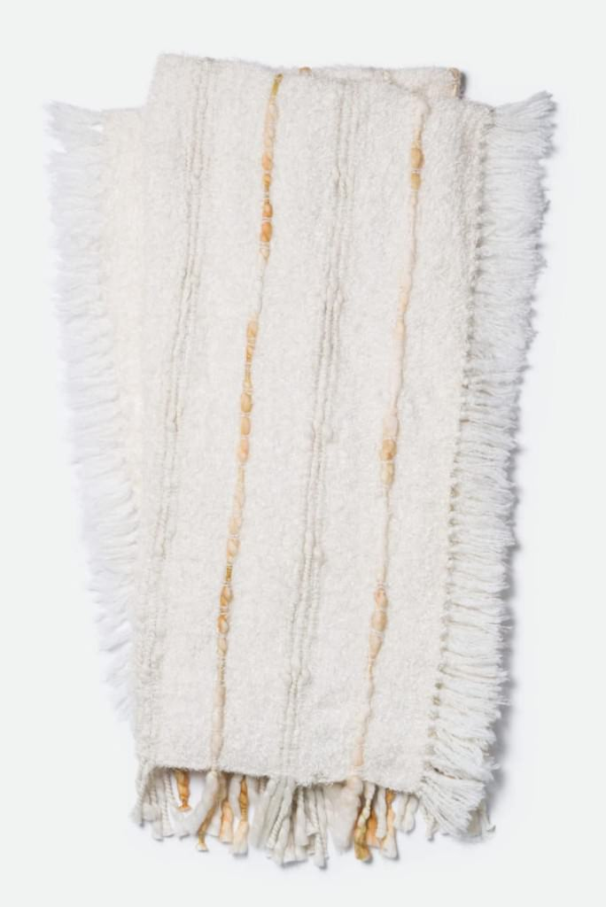 Loloi Aida T0010 Ivory Throw
