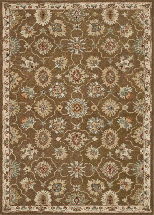 Loloi Fairfield HFF01 Brown / Ivory Rug