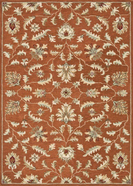Loloi Fairfield HFF02 Rust Rug
