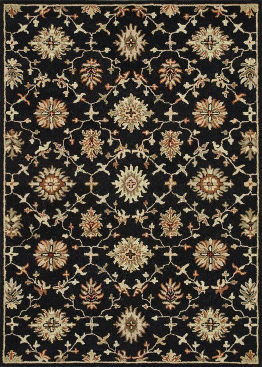 Loloi Fairfield HFF03 Black Rug