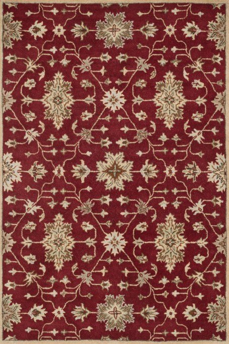Loloi Fairfield HFF04 Red / Multi Rug
