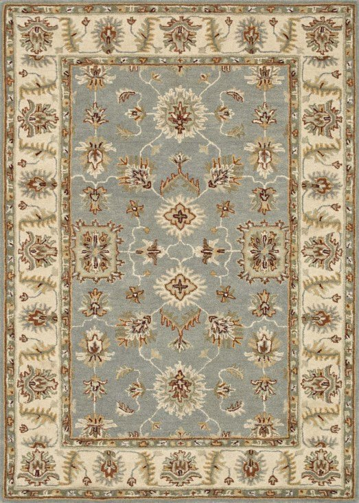 Loloi Fairfield HFF05 Slate / Cream Rug