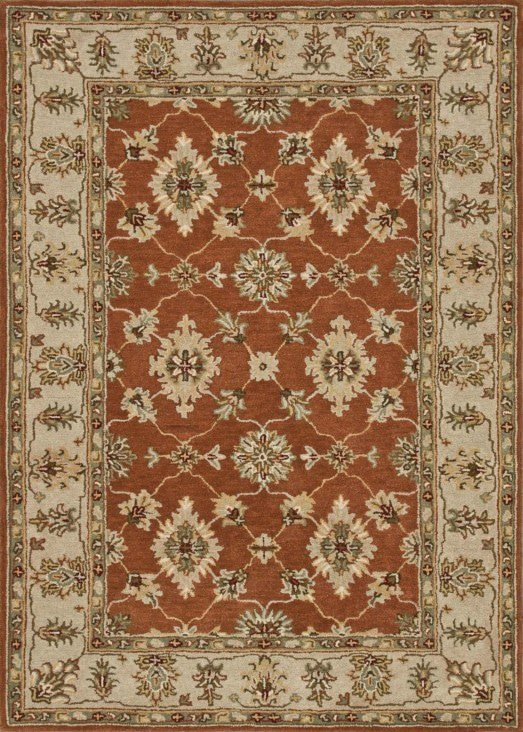 Loloi Fairfield HFF06 Rust / Beige Rug