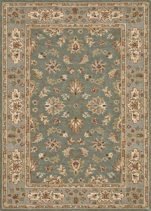 Loloi Fairfield HFF08 Teal / Slate Rug