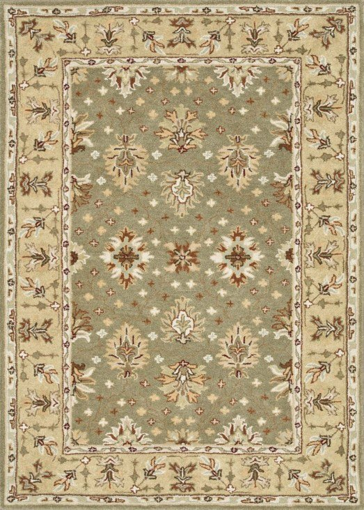 Loloi Fairfield HFF11 Sage / Cream Rug