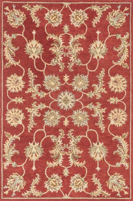 Loloi Fairfield HFF13 Red Rug