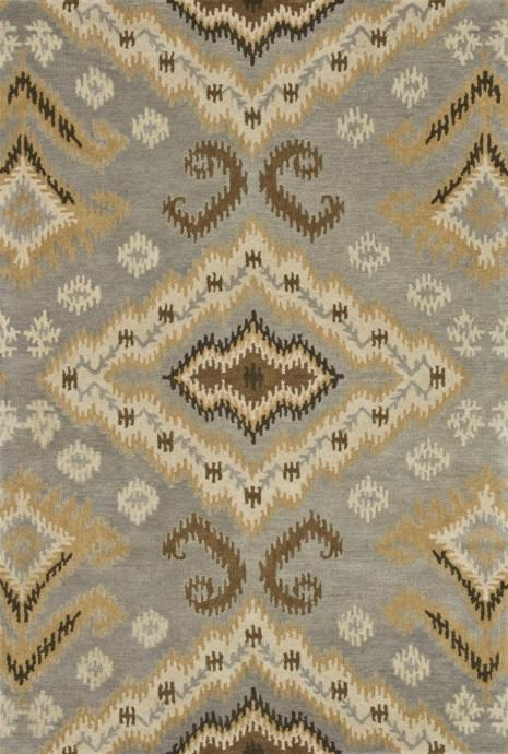 Loloi Fairfield HFF14 Slate / Gold Rug