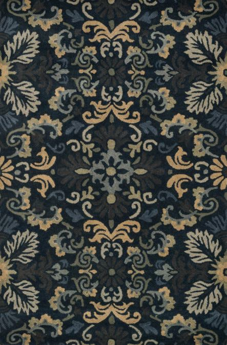 Loloi Fairfield HFF22 Navy / Multi Rug