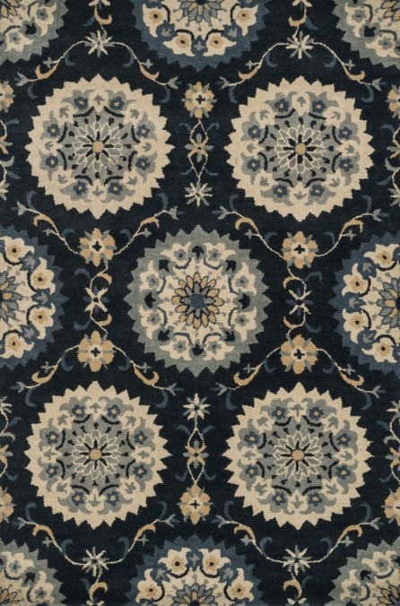 Loloi Fairfield HFF23 Navy Rug