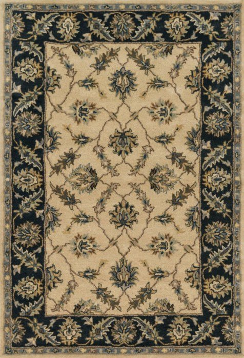 Loloi Fairfield HFF27 Ivory / Navy Rug