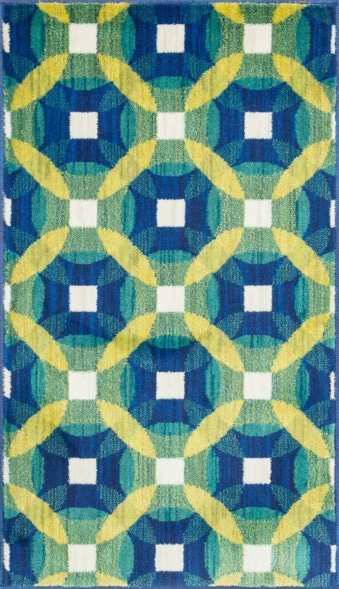 Loloi Isabelle HIS09 Blue / Multi Rug