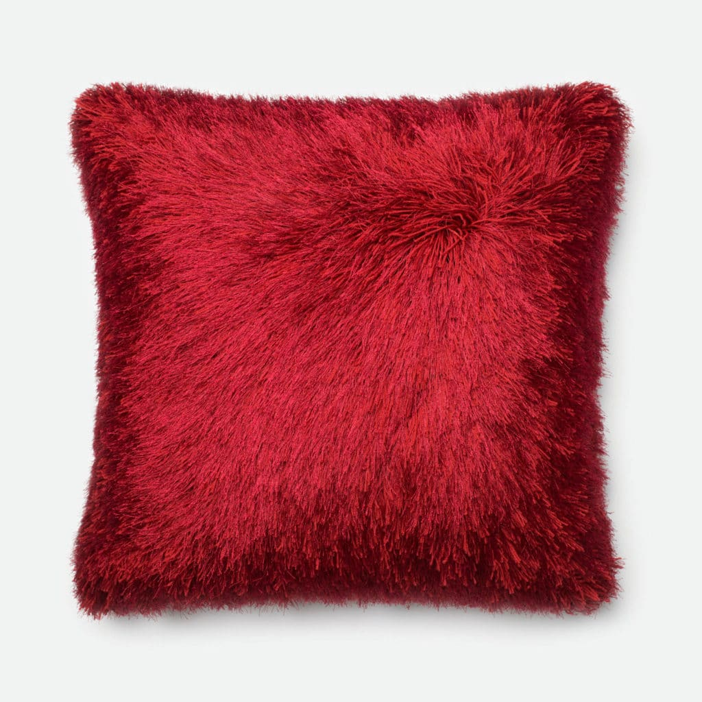 Loloi POLY SET P0245 Red Rug