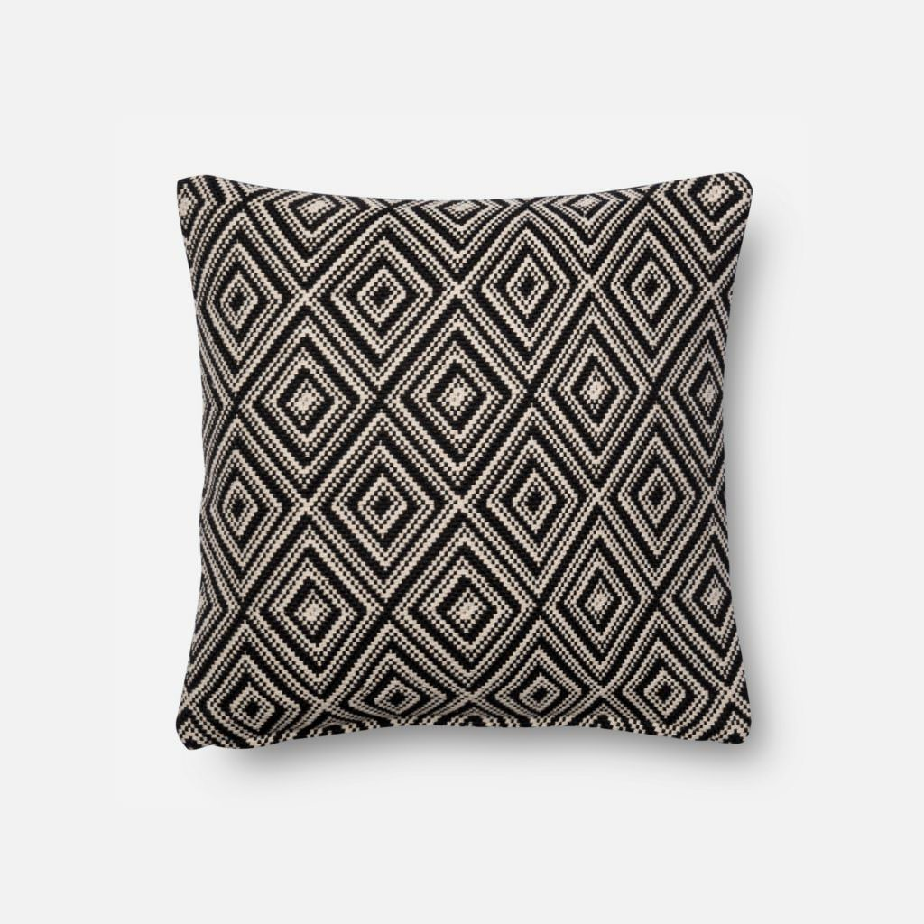 Magnolia Home P1010 Black / White Pillow