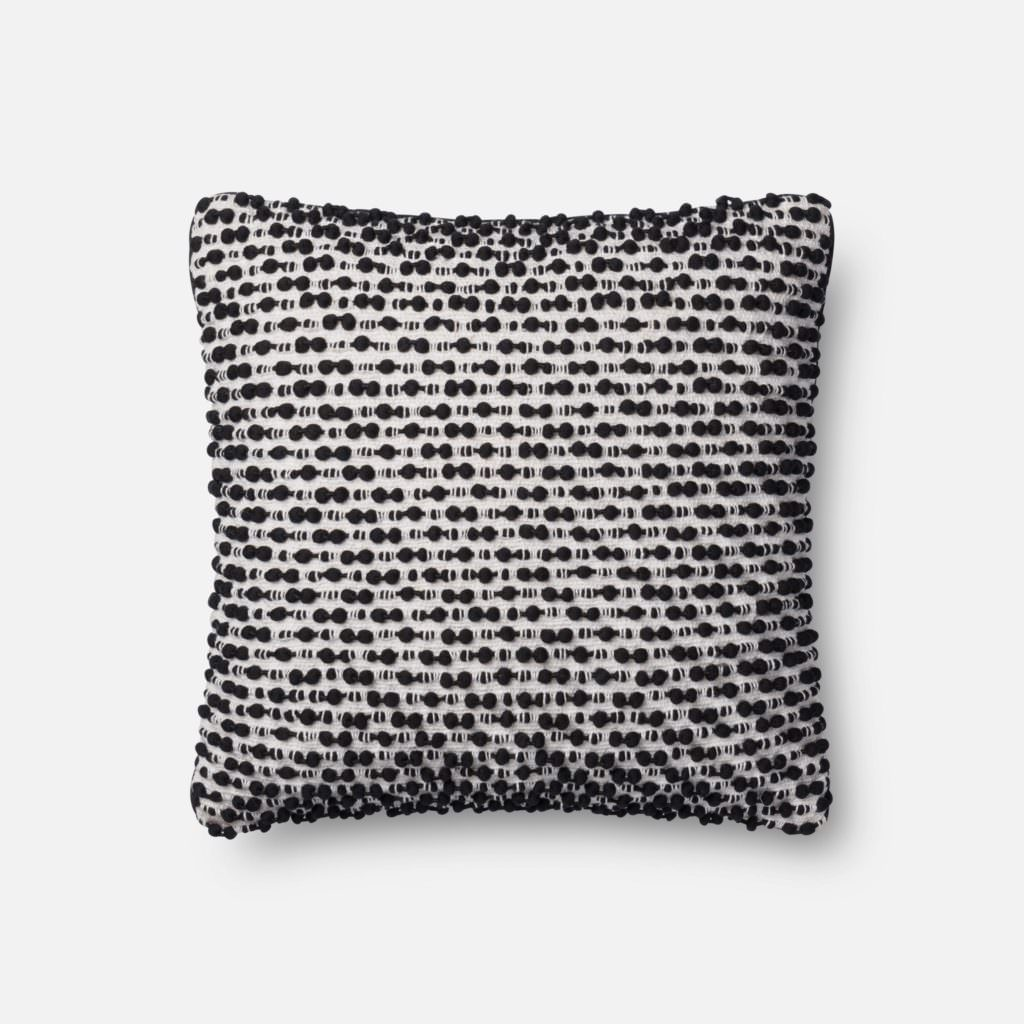 Magnolia Home P1018 White / Black Pillow