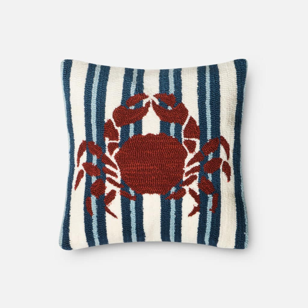 Loloi POLY SET P0353 Navy / Red Rug
