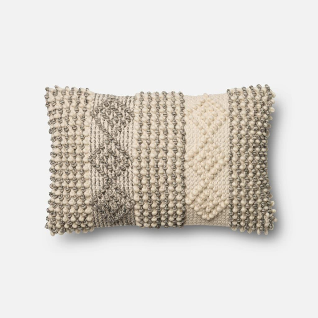Magnolia Home P0461 Grey / Ivory Pillow