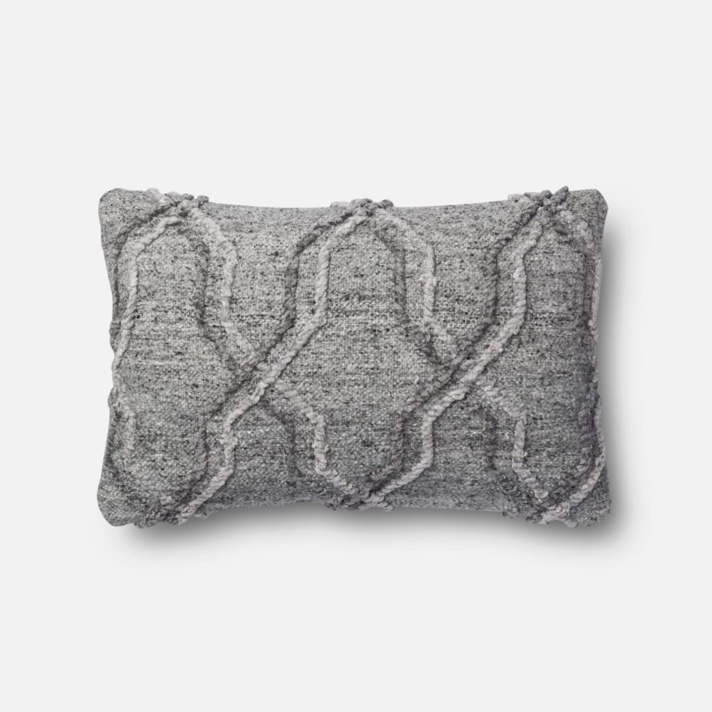 Magnolia Home P1014 Grey Pillow