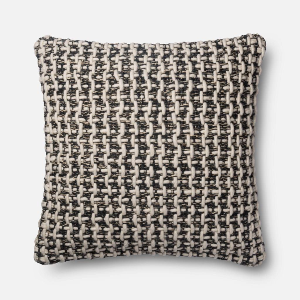Magnolia Home P1017 Black / White Pillow