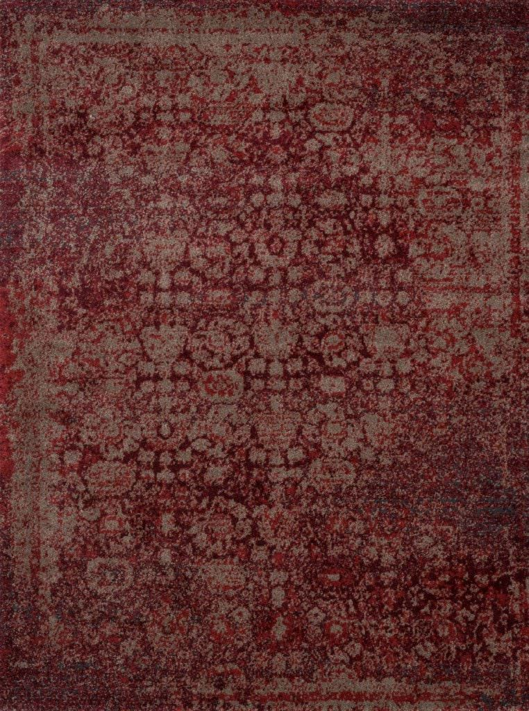 Loloi Viera VR-05 Red / Taupe Rug