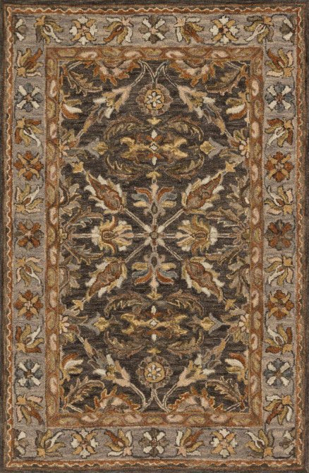 Loloi Victoria VK-06 Dk Taupe / Grey Rug