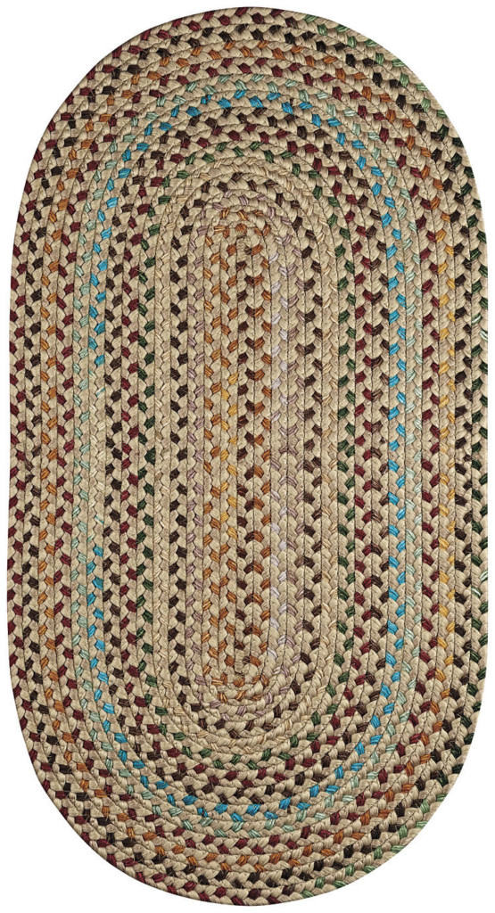 Capel Nu-Way 700 Tan Braided Rug