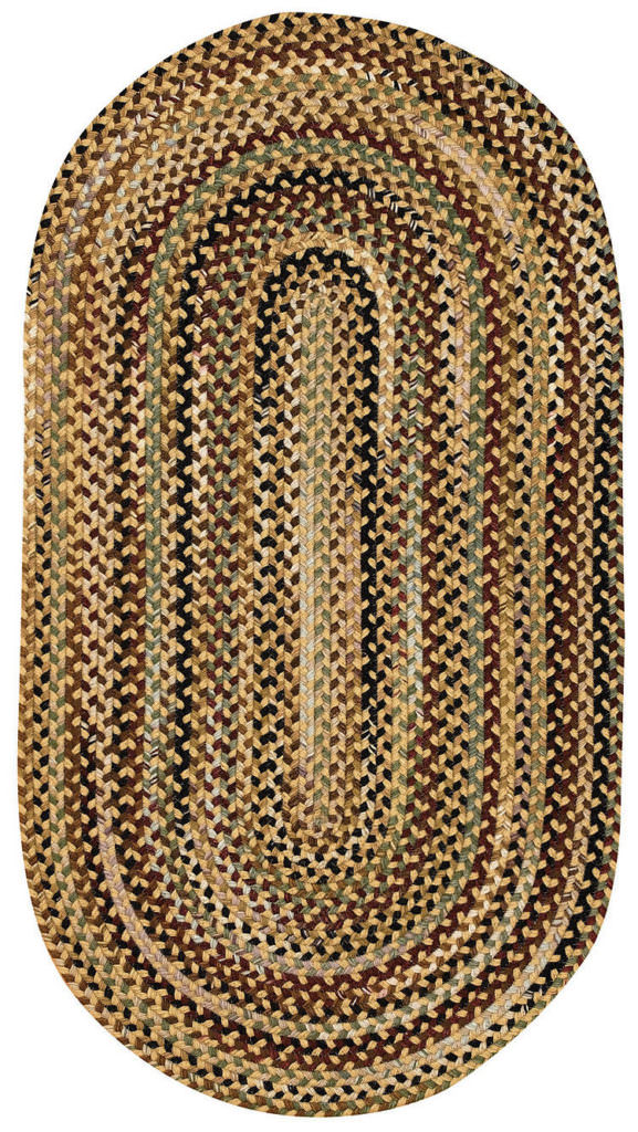 Capel Gramercy 100 Gold Braided Rug