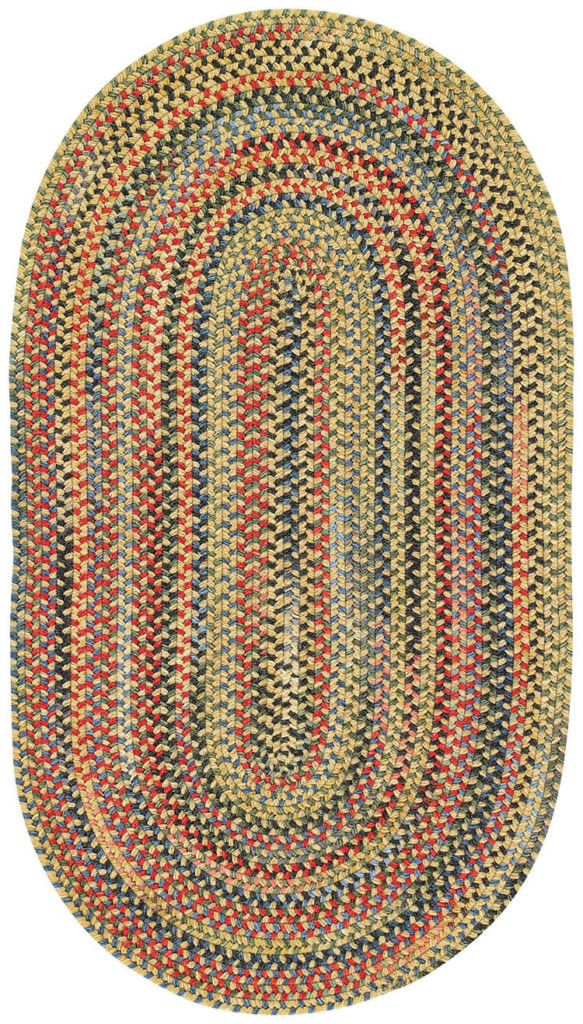 Capel Songbird 150 Gold Finch Braided Rug