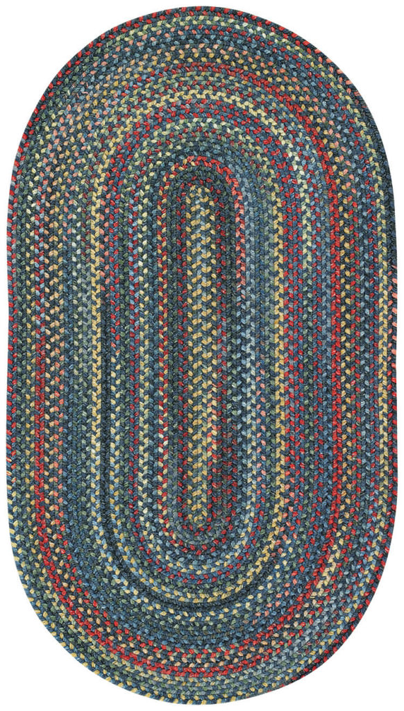 Capel Songbird 475 Blue Jay Braided Rug