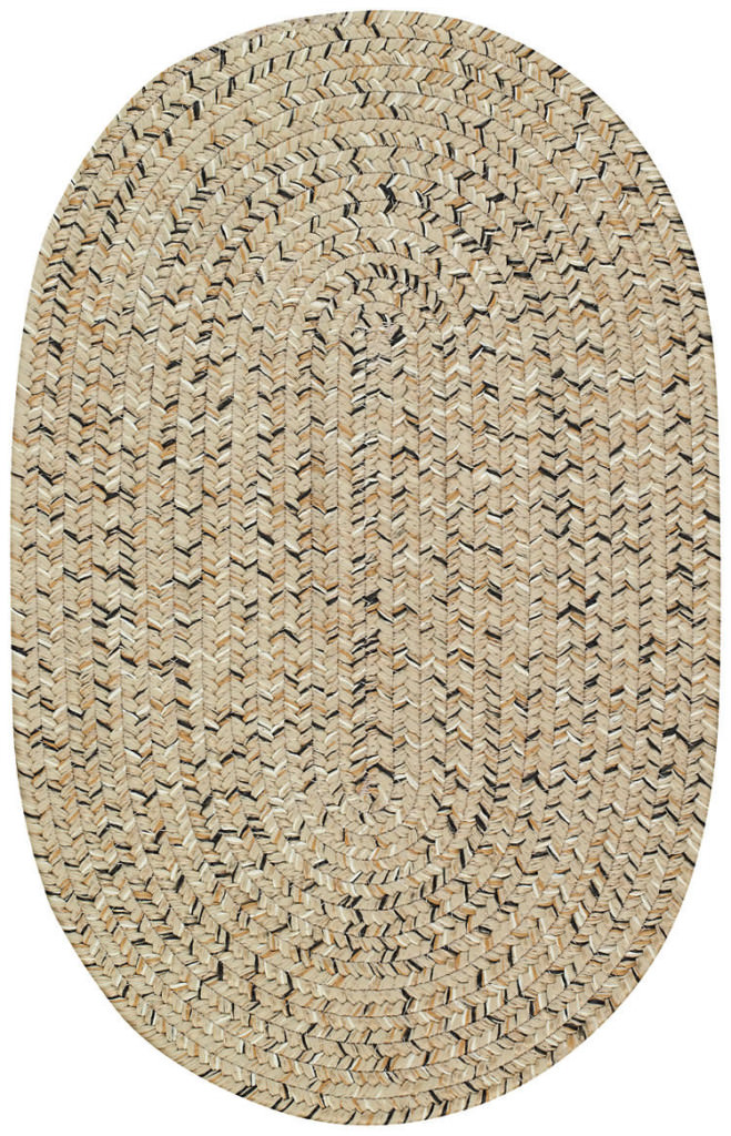Capel Sea Glass 600 Shell Braided Rug
