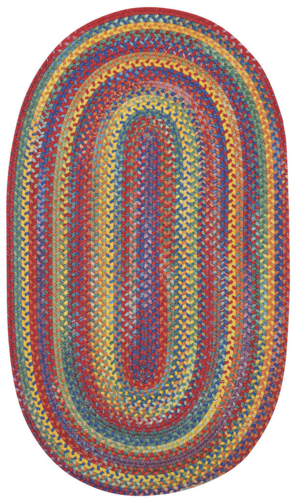 Capel American Legacy 950 Primary Multi Braided Rug
