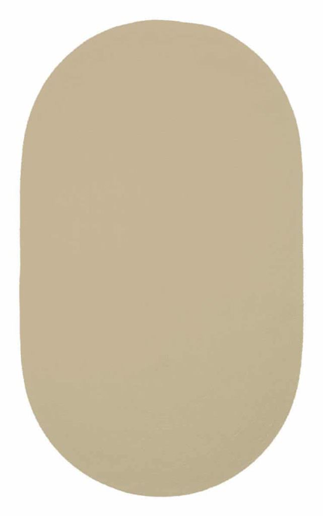 Capel Chenille Creations 720 Latte Braided Rug