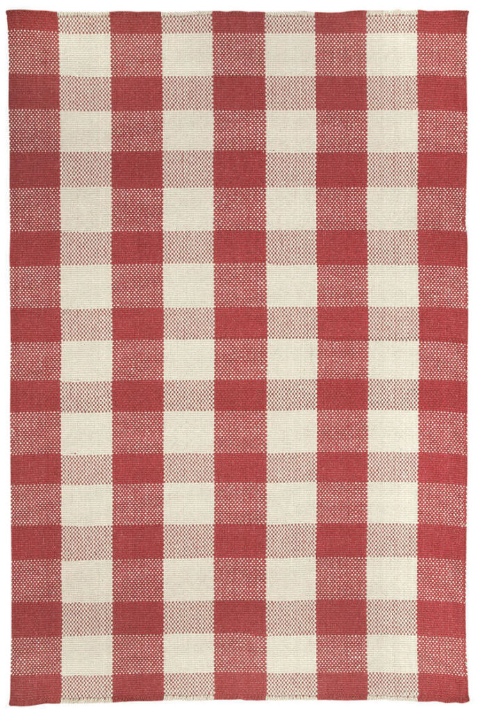 Capel Nottingham 500 Red Braided Rug