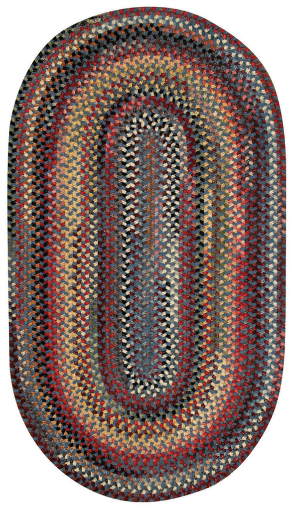 Capel Cambridge 400 Bluebell Braided Rug