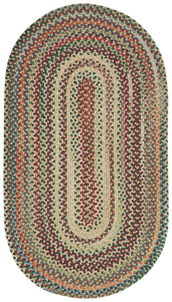 Capel Bear Creek 150 Wheat Braided Rug