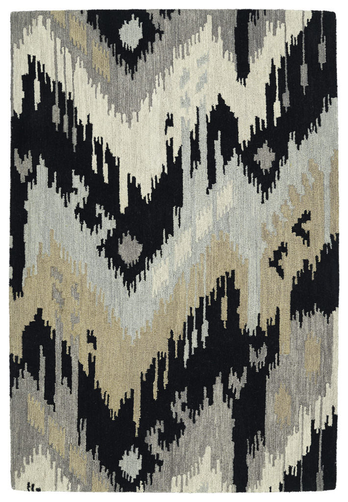 Kaleen Casual 5054-02 Black Rug