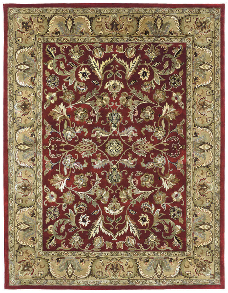 Kaleen Mystic William-01 Red Rug