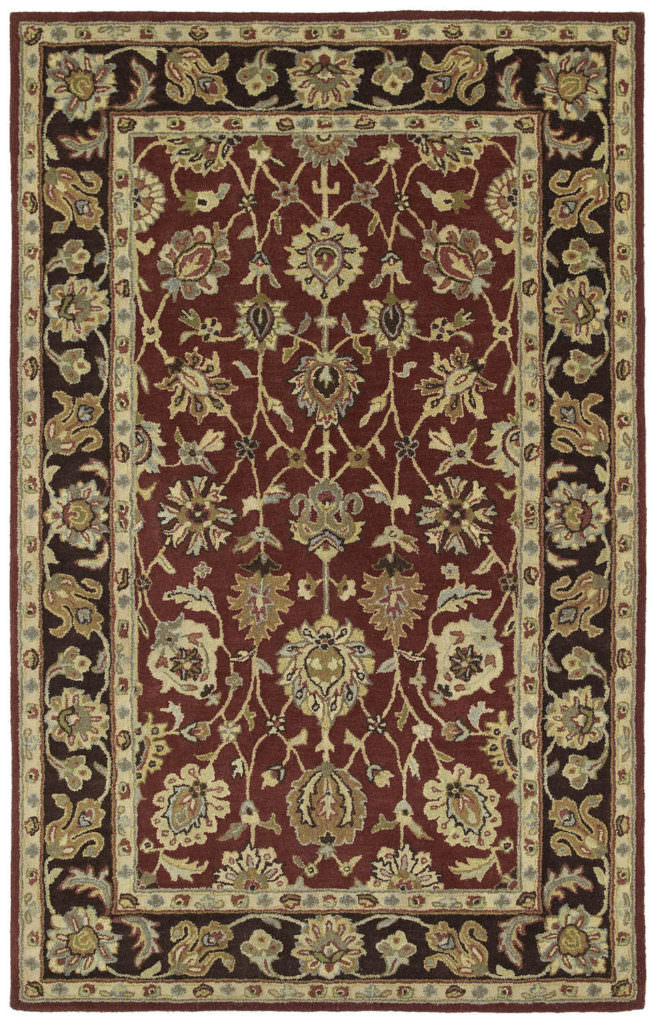 Kaleen Heirloom Deborah-03 Burgundy Rug