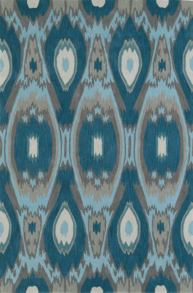 Dalyn Aloft AL9 Teal Rug