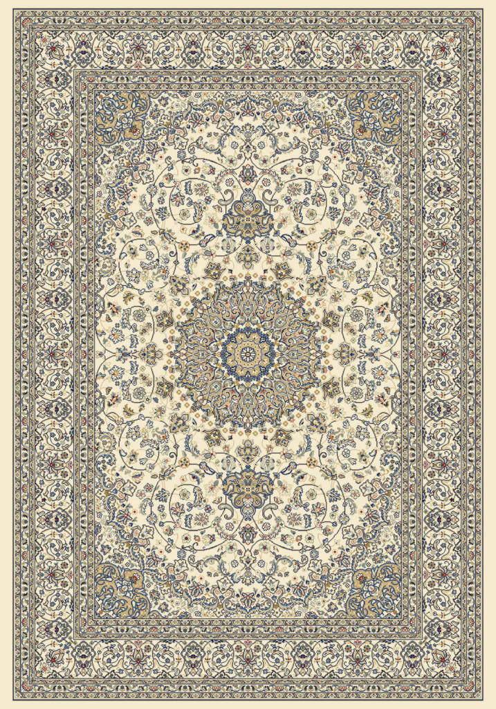 "Dynamic Ancient Garden 9'-2"" x 12'-10"" 57119-6464 Ivory Rug"