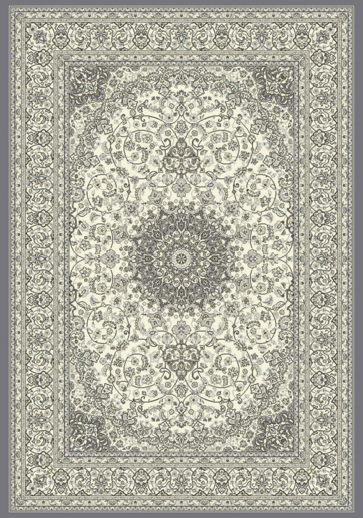 "Dynamic Ancient Garden 9'-2"" x 12'-10"" 57119-6656 Cream / Grey Rug"