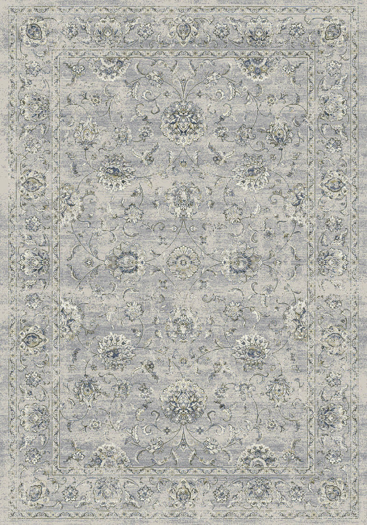 "Dynamic Ancient Garden 9'-2"" x 12'-10"" 57126-9696 Silver / Grey Rug"