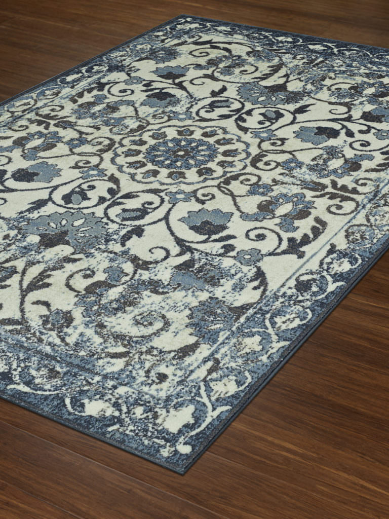 Dalyn Beckham BC29 Ivory Rug Floor View
