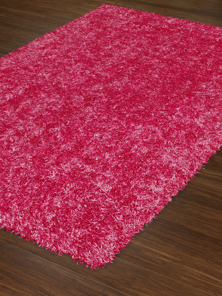 Dalyn Bright Lights BG69 Hot Pink Rug Floor View