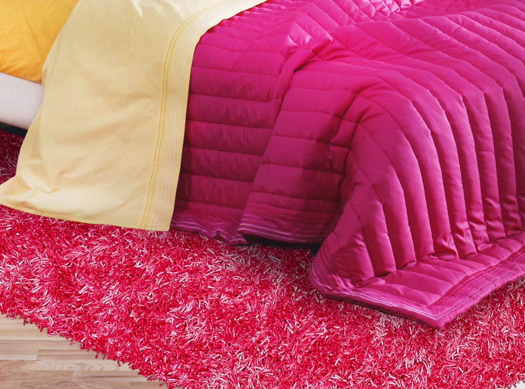 Dalyn Bright Lights BG69 Hot Pink Rug Room View