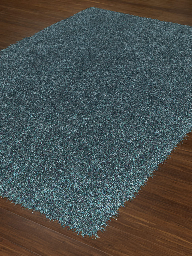 Dalyn Belize BZ100 Teal Rug Floor View