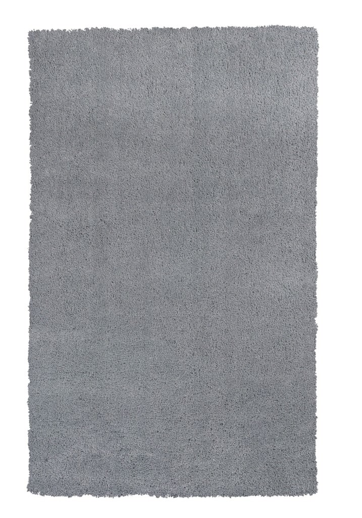"KAS Bliss 1557 Grey Shag 3'-3"" x 5'-3"" Rug"