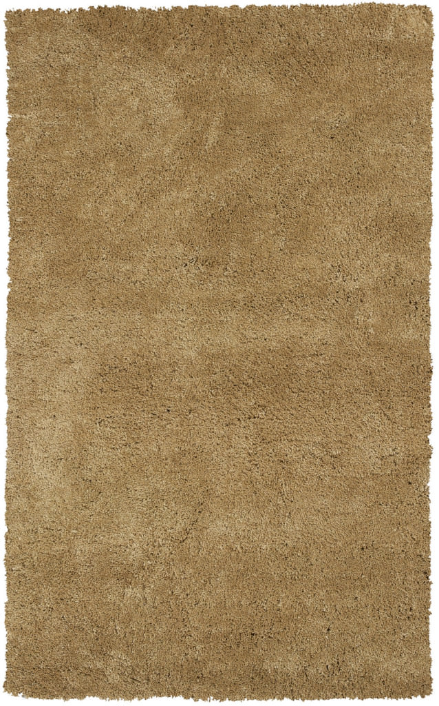 "KAS Bliss 1567 Gold Shag 27"" X 45"" Rug"