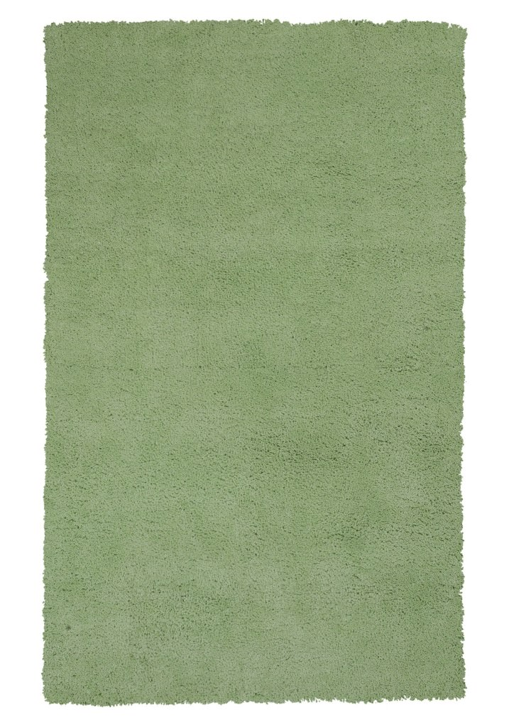 "KAS Bliss 1578 Spearmint Green Shag 27"" X 45"" Rug"