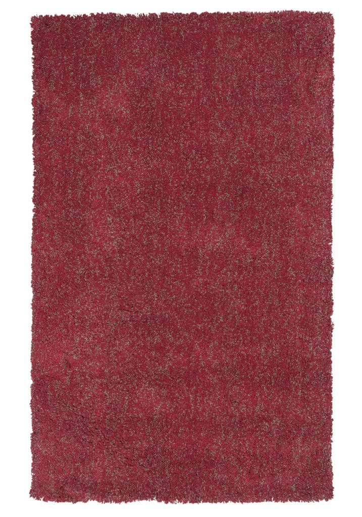 "KAS Bliss 1584 Red Heather Shag 27"" X 45"" Rug"