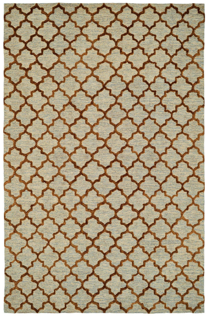 Dynamic Broadway 8' x 11' 99442-707 Gold Rug